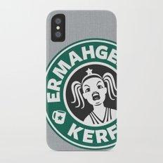 Ermahgerd, Kerfer! iPhone X Slim Case