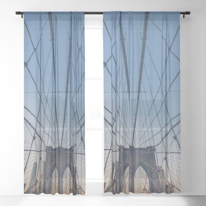 Brooklyn Mornings Sheer Curtain