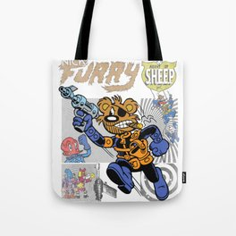 NICK FURRY: AGENT OF S.H.E.E.P. Tote Bag