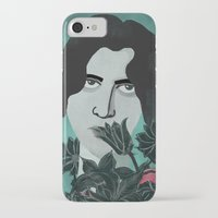 oscar wilde iPhone & iPod Cases featuring Oscar Wilde by Phantasmagoria
