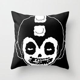 MISFITS MEGA MAN SKULL Throw Pillow