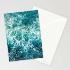 dancing waves Stationery Cards
