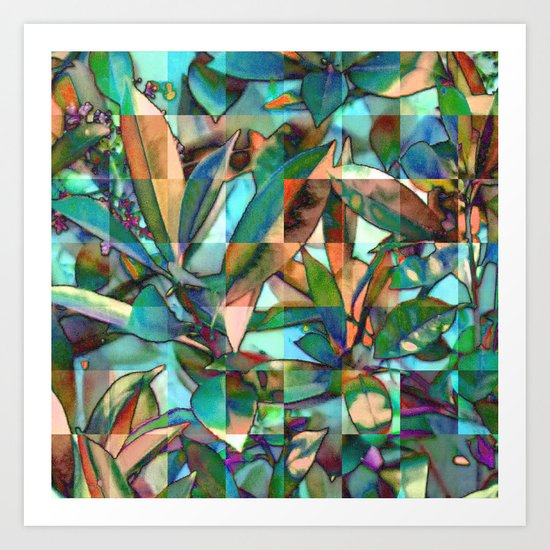 Into the Jungle 01 Art Print