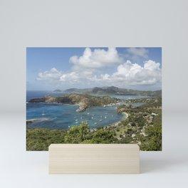 English Harbor as Seen from Shirley Heights - Antigua Mini Art Print