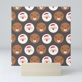 Santa's Slaves III (Patterns Please) Mini Art Print
