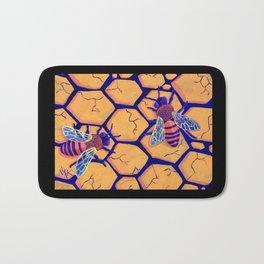 Drought Bees Bath Mat