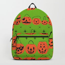 Trick or Treat Smell My Feet- Green Backpack