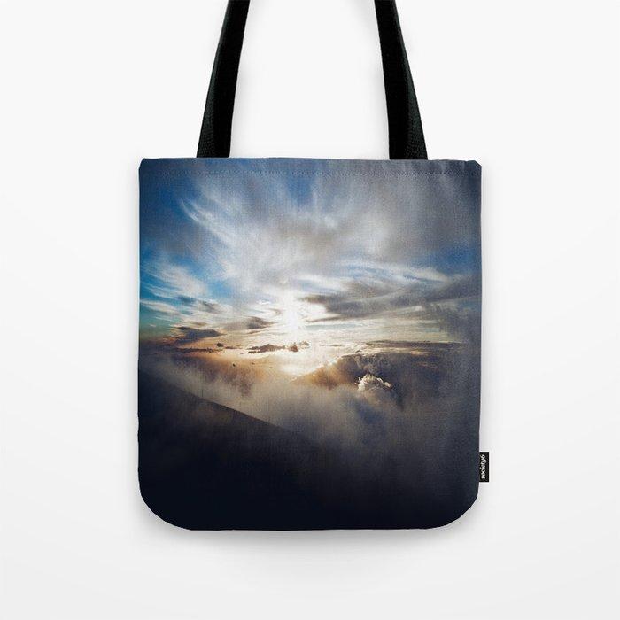 Vengeful sky Tote Bag