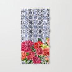 Floral Moroccan Hand & Bath Towel
