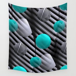 3D - abstraction -126- Wall Tapestry