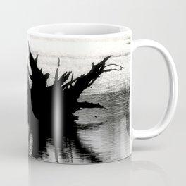 Brazos Bend State Park Tree Stump In Wetland Lake Coffee Mug