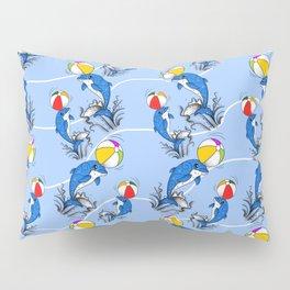 Dolphin at beach Pillow Sham