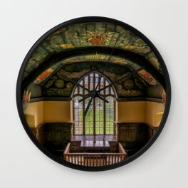 Sun and Moon Chapel Wall Clock