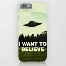 UFO, I Want To Believe iPhone 6s Slim Case