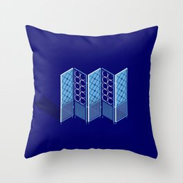 Room Divider Throw Pillow