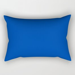 Royal azure - solid color Rectangular Pillow