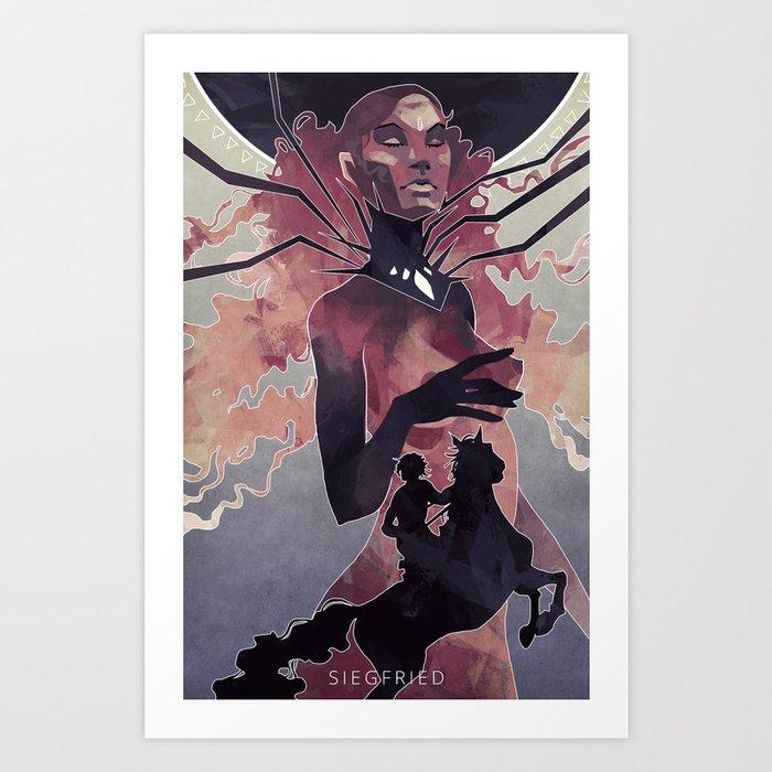 Siegfried Art Print