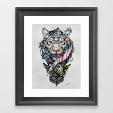 Killing Beauty Framed Art Print