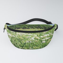 Yarrow meadow and hedge Fanny Pack