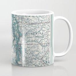 Puget Sound Map Coffee Mug