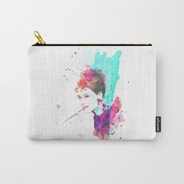 Breakfast In Watercolor Carry-All Pouch