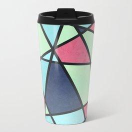 COLOR MOSAIC Metal Travel Mug