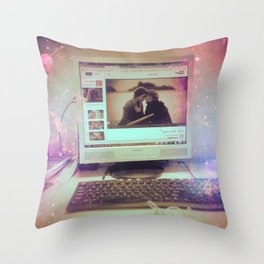 Stop for A Moment Please Throw Pillow