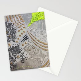 Oh! Embroidered 2 Stationery Cards