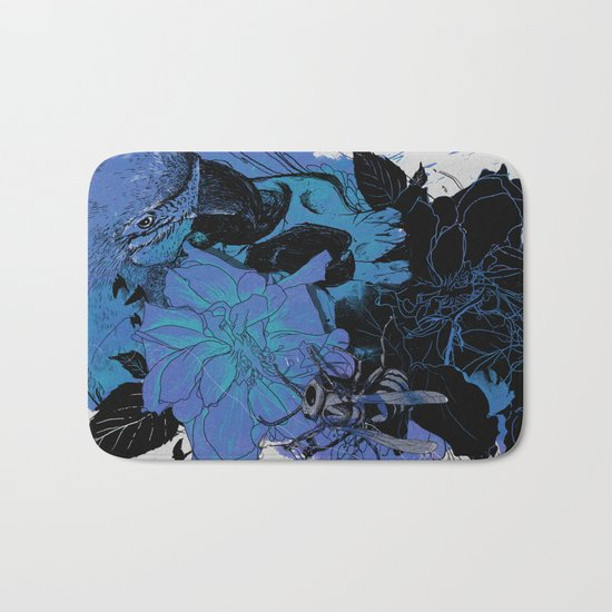 Pollination Bath Mat