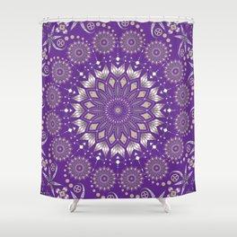 Ancestors (Purple) Shower Curtain