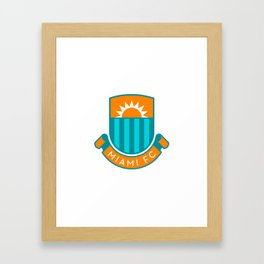 MIAFC (English) Framed Art Print