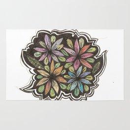 Floral Collage Rug