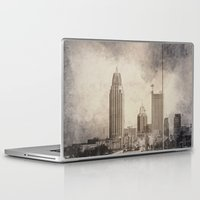 alabama Laptop & iPad Skins featuring Mobile, Alabama by Judith Lee Folde Photography & Art