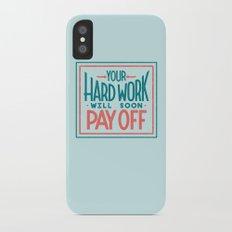 Fortune Cookie Wisdom iPhone X Slim Case