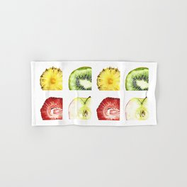 Fruit Slices Pattern Hand & Bath Towel