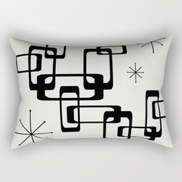 Atomic Era Minimalism Rectangular Pillow