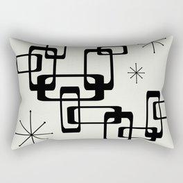 Atomic Era Minimalism Rectangular Pillow