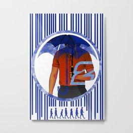 Number two Metal Print