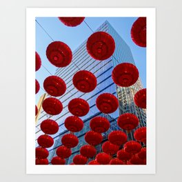 Chinese New Year, Sydney Art Print