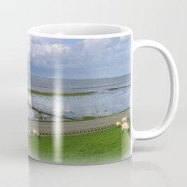 On the dike Coffee Mug