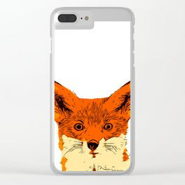 The Fox Clear iPhone Case