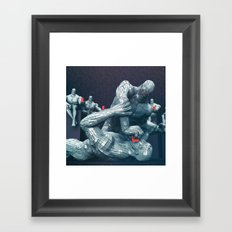 Winning Arguments Framed Art Print