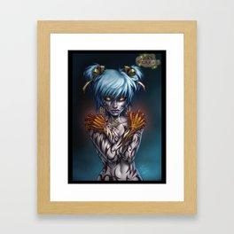 Kristine Uncovered Framed Art Print