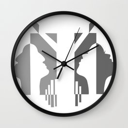 Fipped Wall Clock