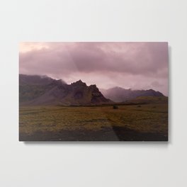 Midnight In Iceland Metal Print