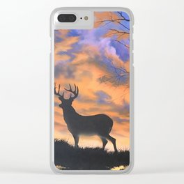 A hunters view Clear iPhone Case