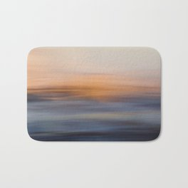 Undulating Sunset Bath Mat
