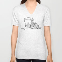 Thirsty Grouse Unisex V-Neck