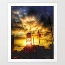 Morning In Memphis Art Print