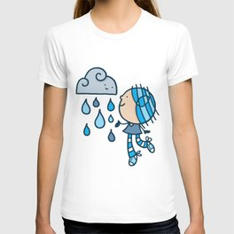 Rain Cloud Girl T-shirt